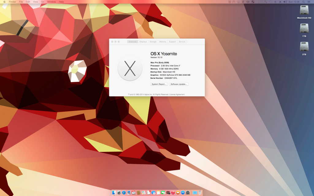 OS X Yosemite Hackintosh