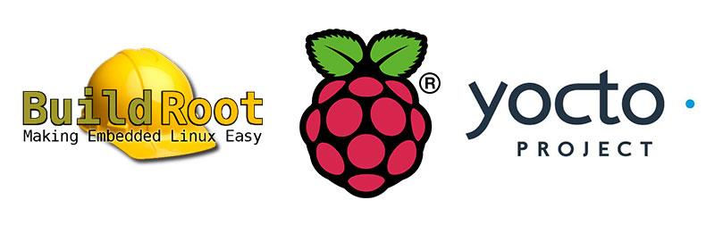 Buildroot RPi Yocto Logos