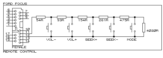 Ford Steering Controls Schematic