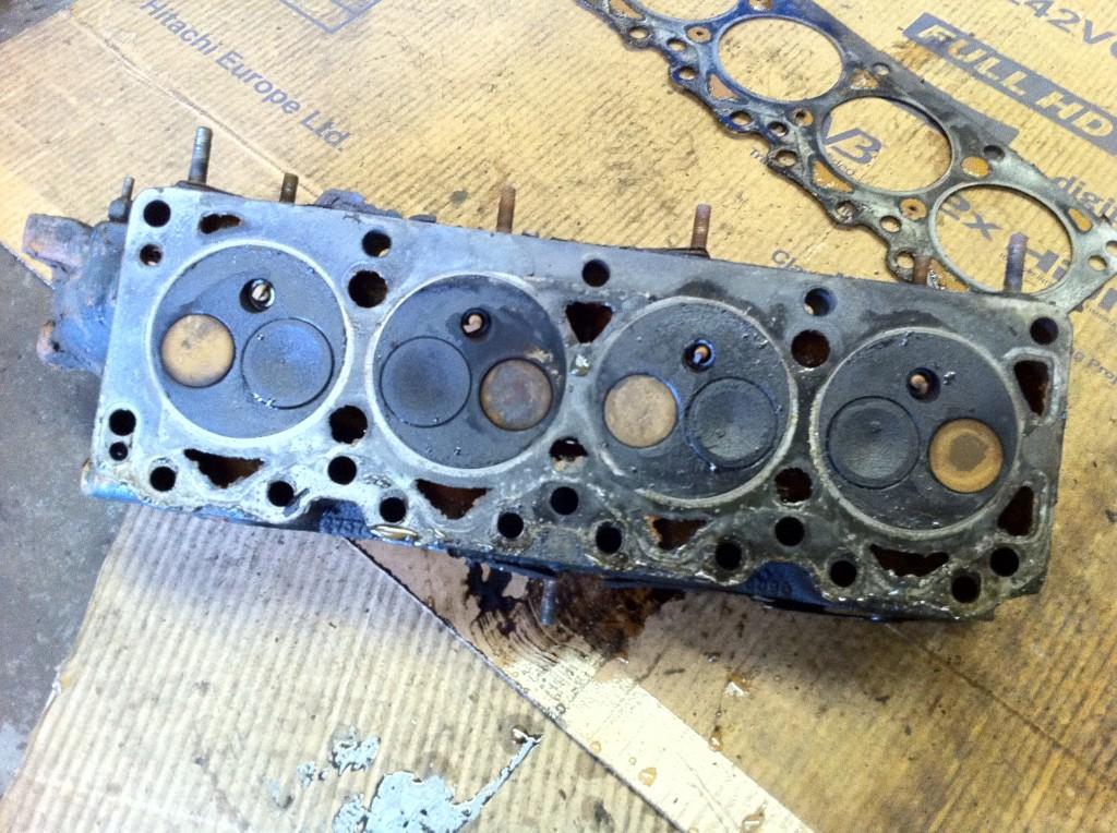 Burnt XFlow Cylinder Head